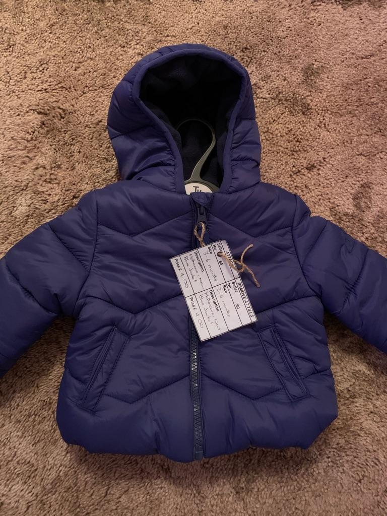 Blue winter jacket