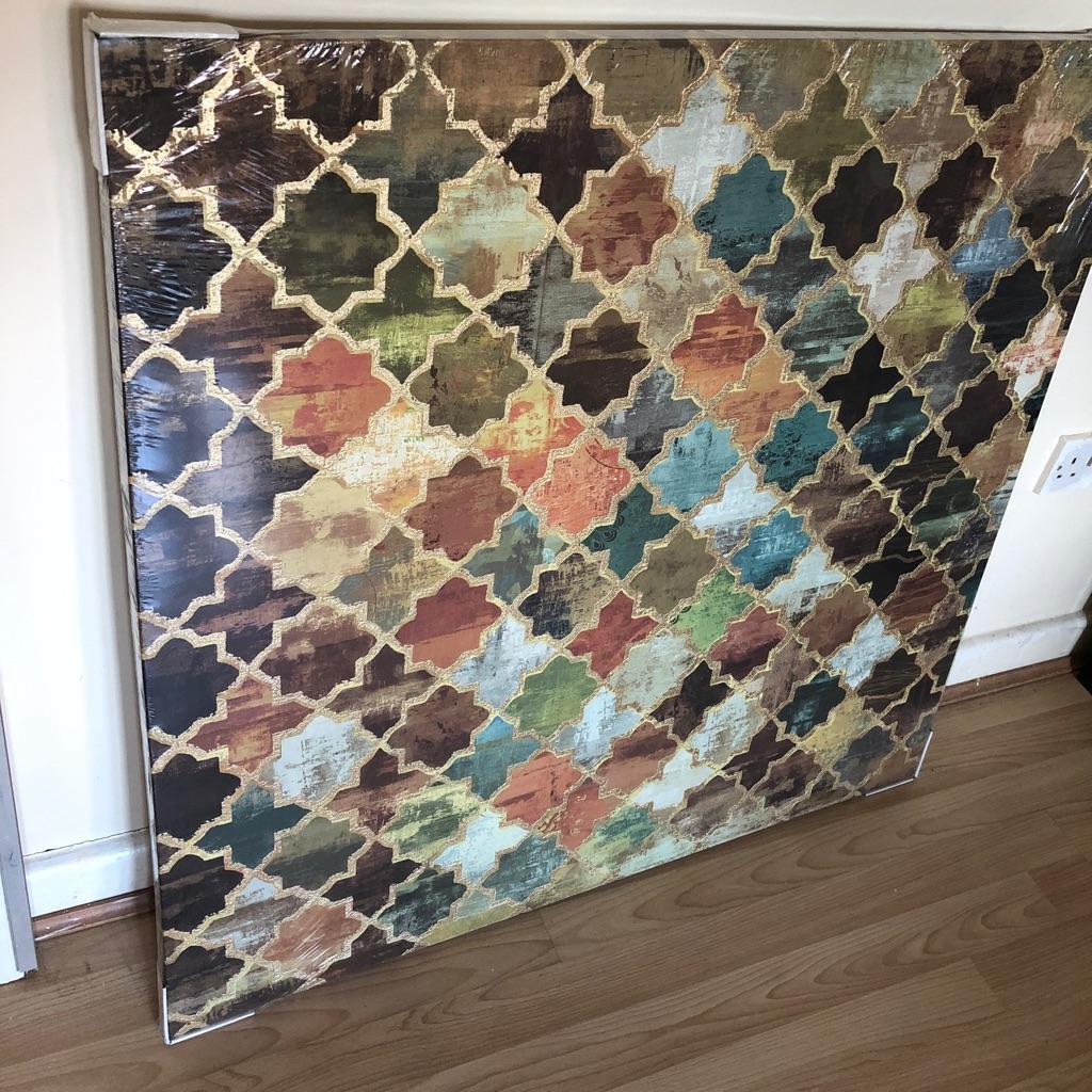 Mosaic art wall