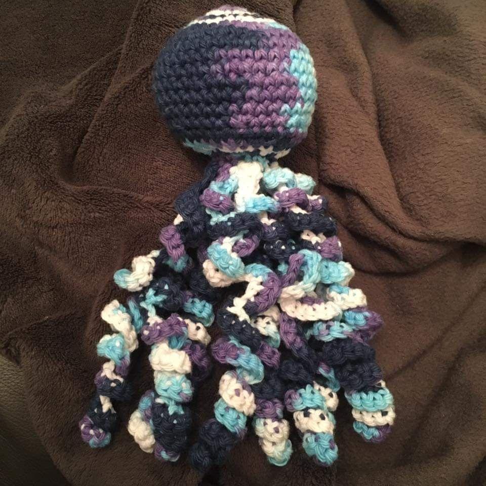 preemie octopus handmade