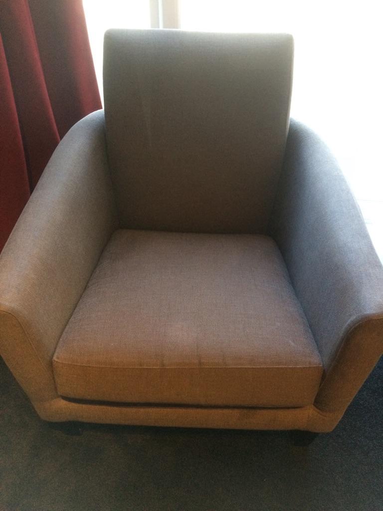 Pair of John Lewis armchairs