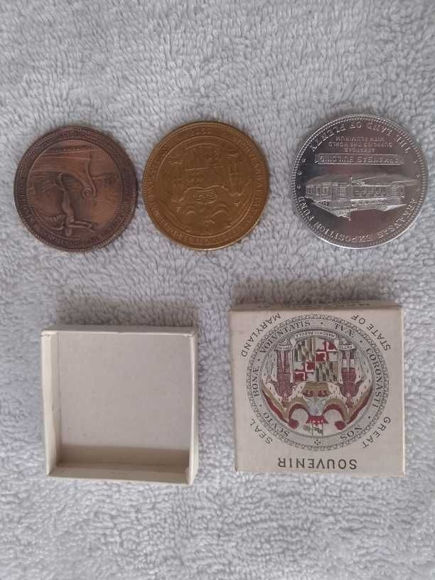 Panama Pacific Int Expo medals collectors edition 1915