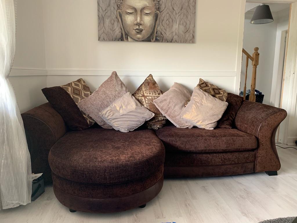 DFS L Shape sofa/Arm chair/Storage Box