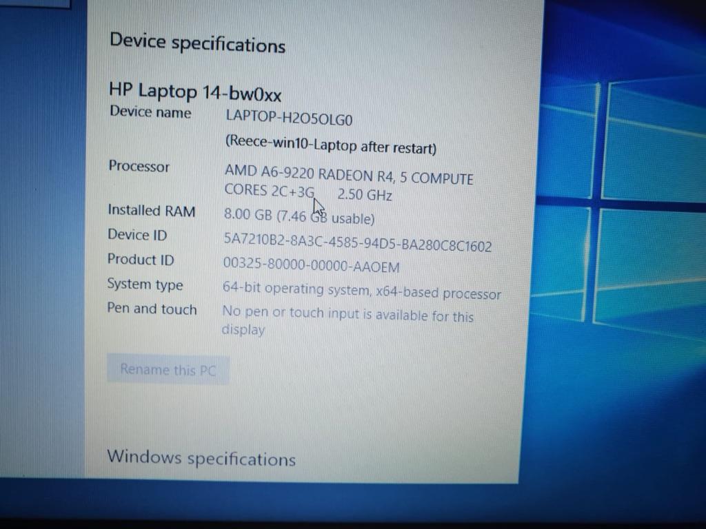 """Hewlett Packard Laptop 14"""""""