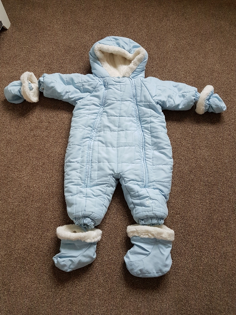 Baby snowsuit winter coat 12 months