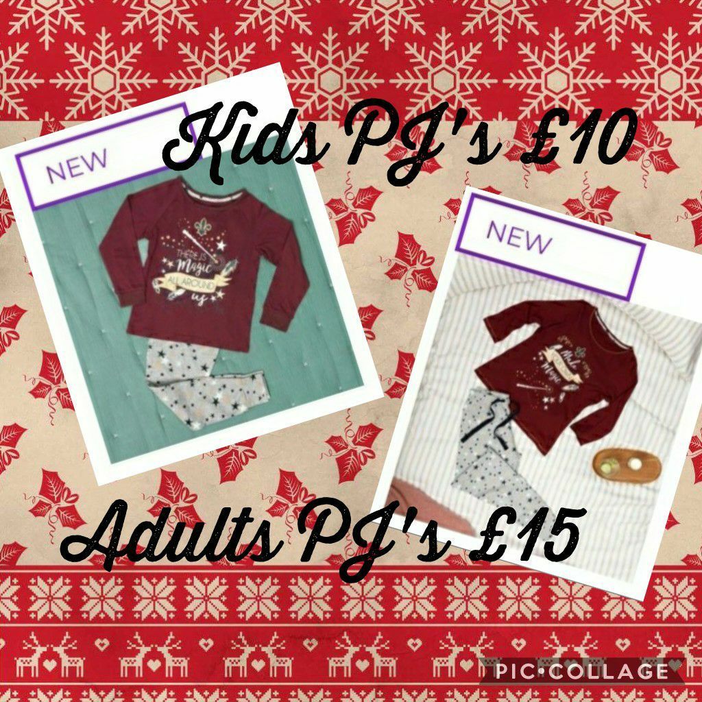 Matching adult and kids PJ's