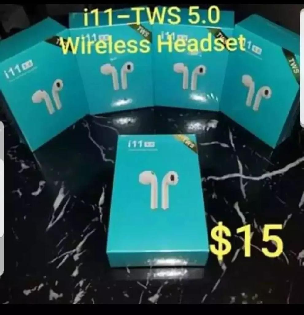 i11-TWS W/ Touch Control + Auto Pairing