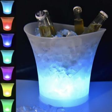 LED ICE BUCKET COLOUR CHANGING DRINKS COOLER