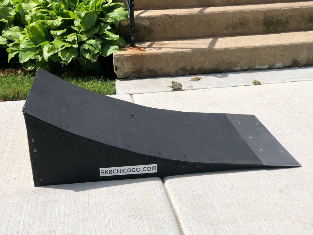 Skateboarding kicker