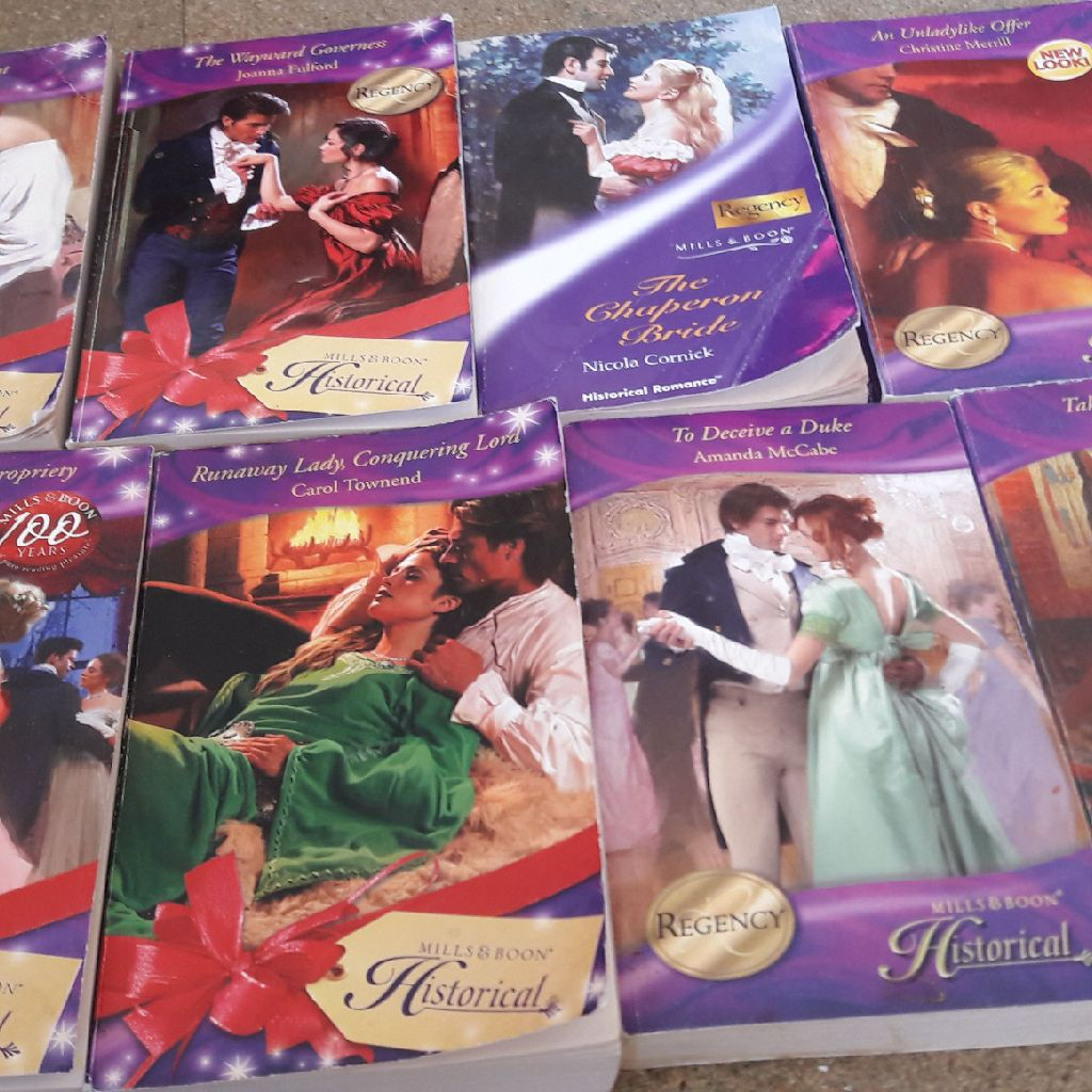 Mills and boon historical