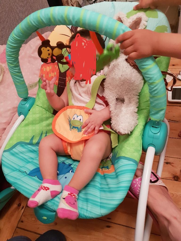 Baby bouncer 3in1