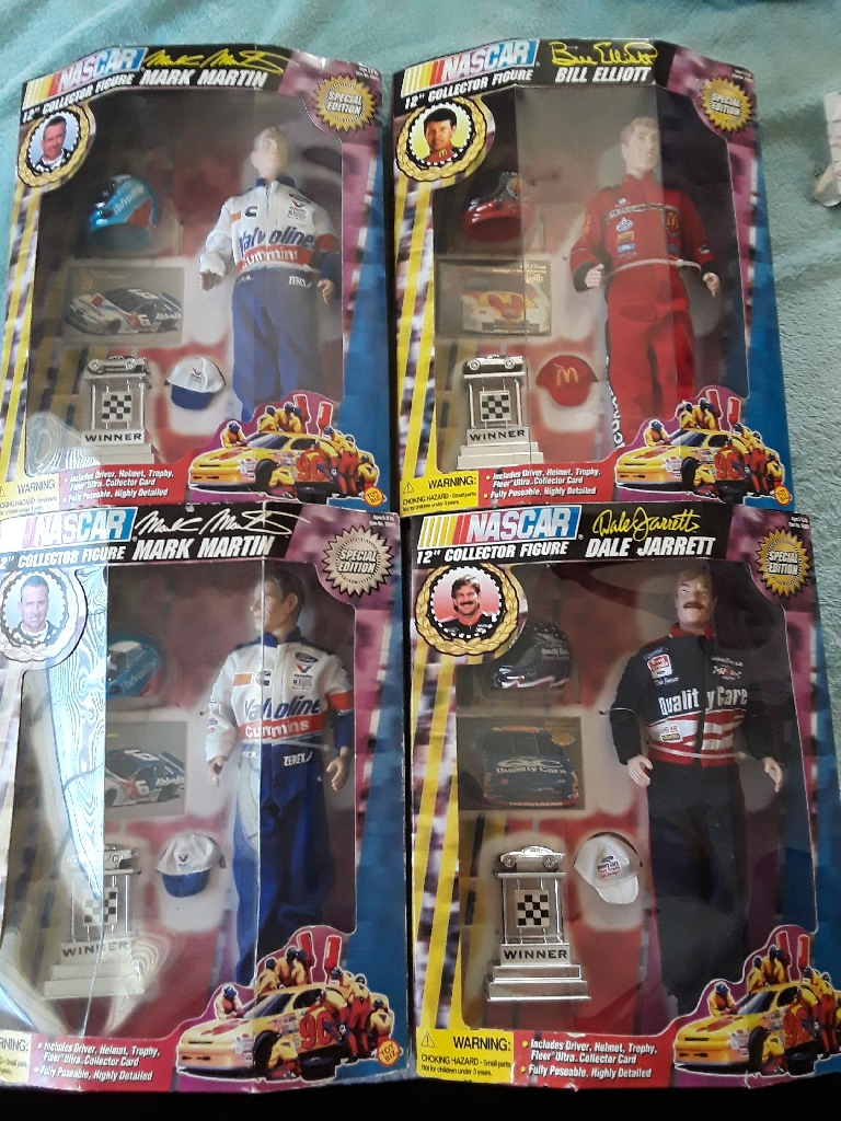 NASCAR 12 inches Tall Figures