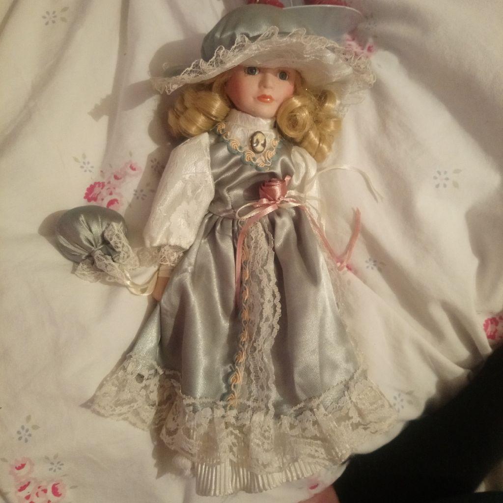 Victoria porcelain doll