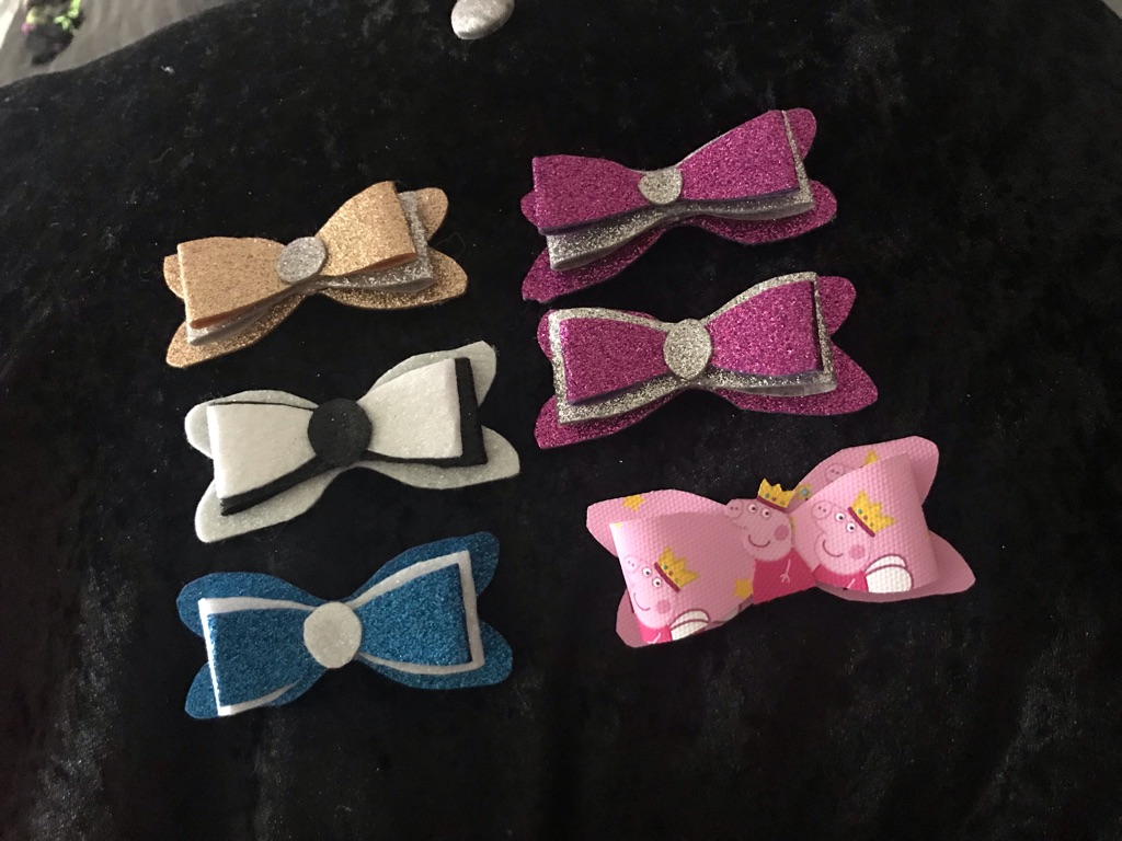 Mix of bows