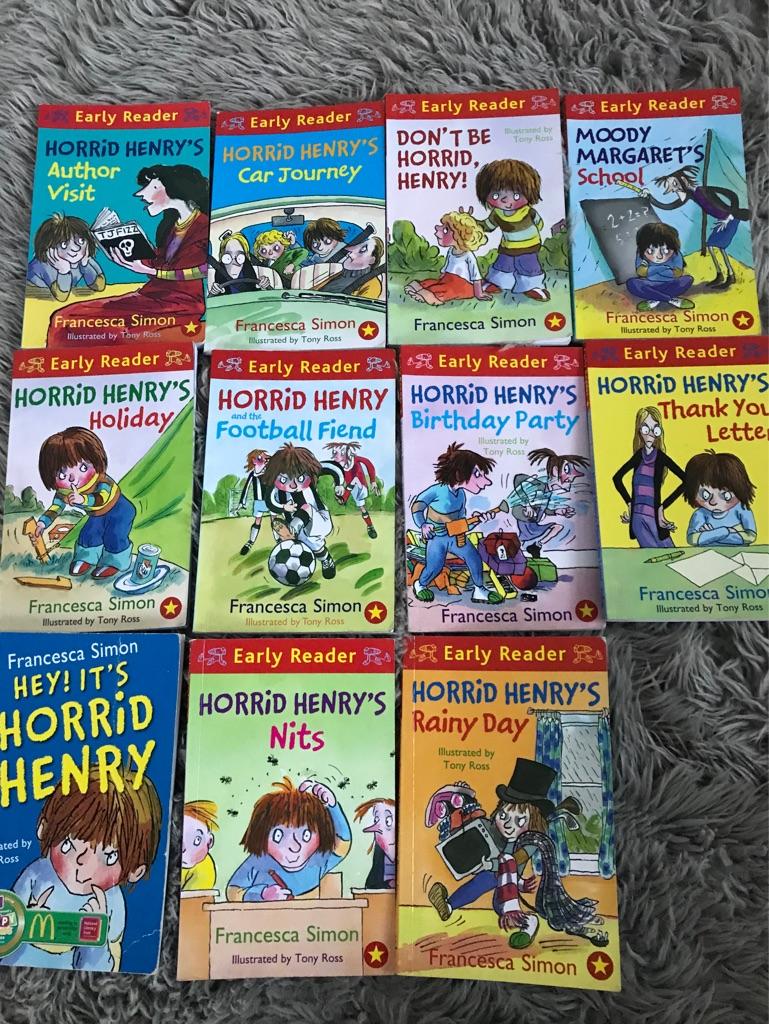 Horrid Henry bundle of early reader books