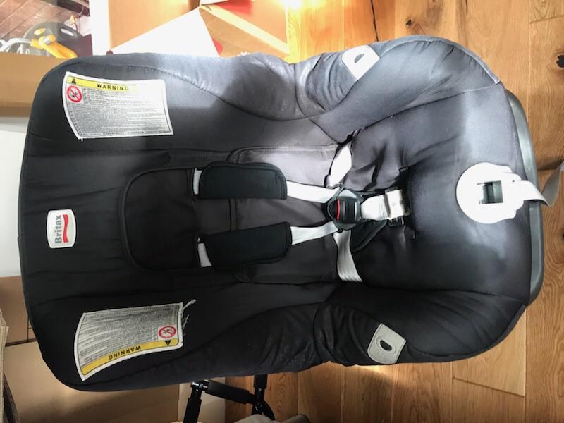Britax child car seats x2