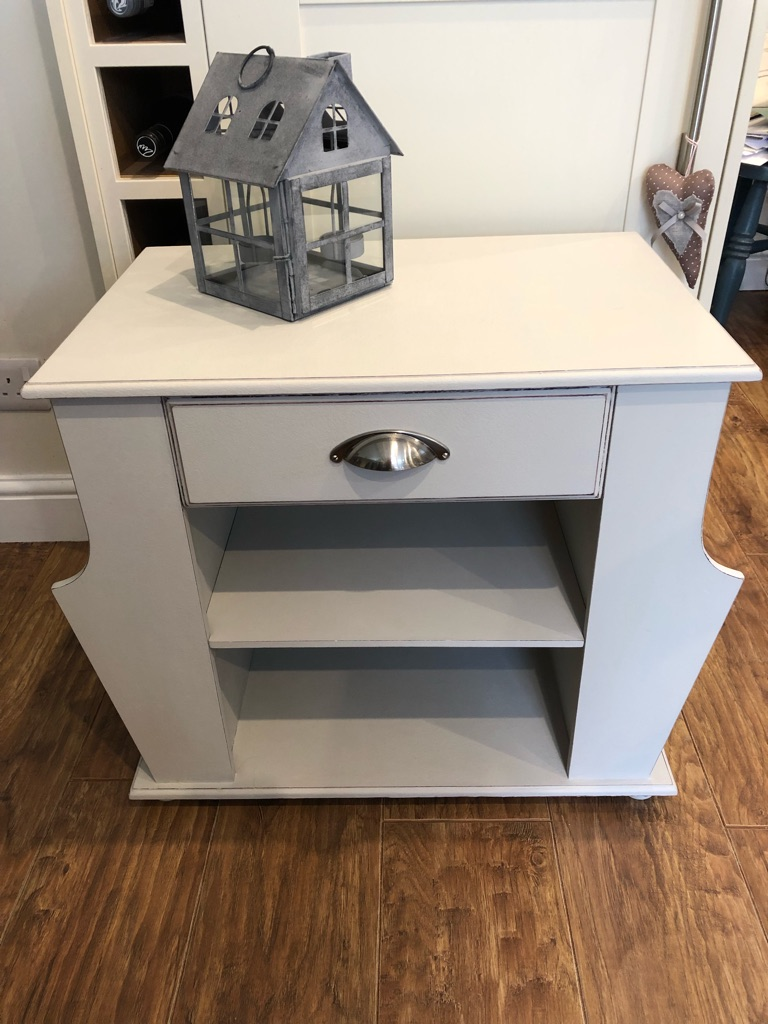 Up cycled side table