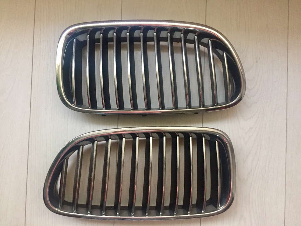 Genuine 1 Pair Front Kifney Grille for BMW F10 18 5 Series