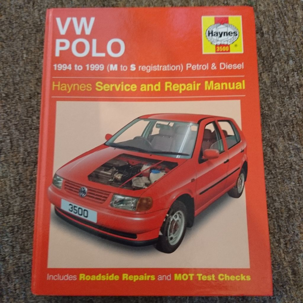 Haynes Manual for VW Polo 1994 to 1999 ...