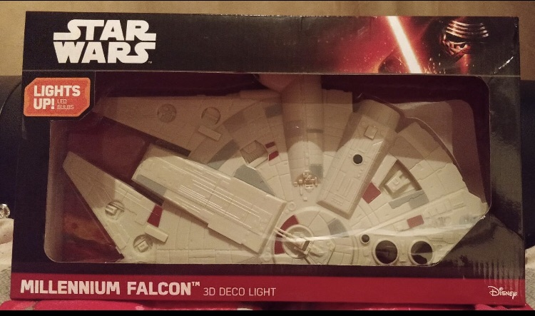 Star Wars Millennium Flacon 3D Wall Deco Light