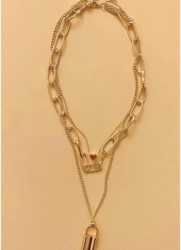 Padlock necklace 20% off using my code below