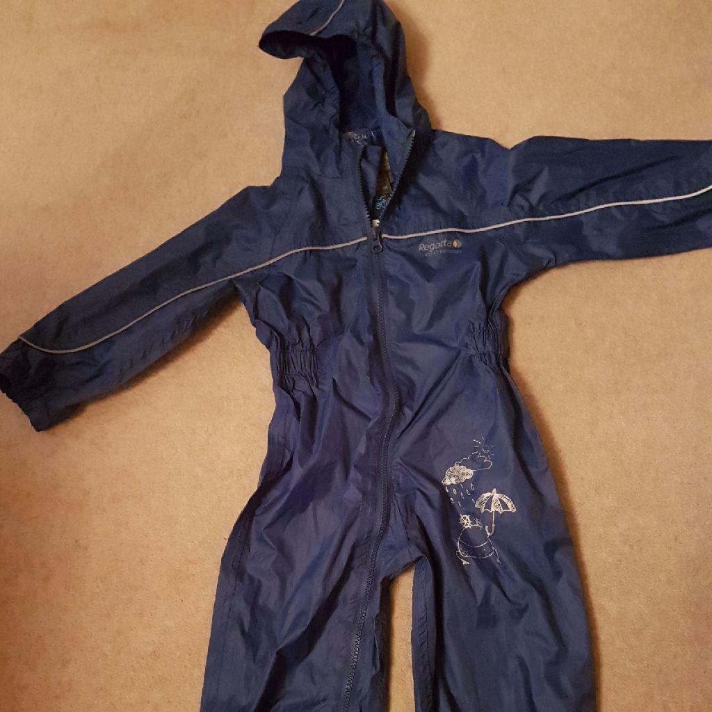 Regatta  'Little Adventures' Puddle Suit (New / Never Worn) in blue 36 - 48 months.