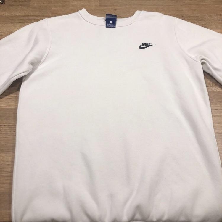 White Nike Sweatshirt