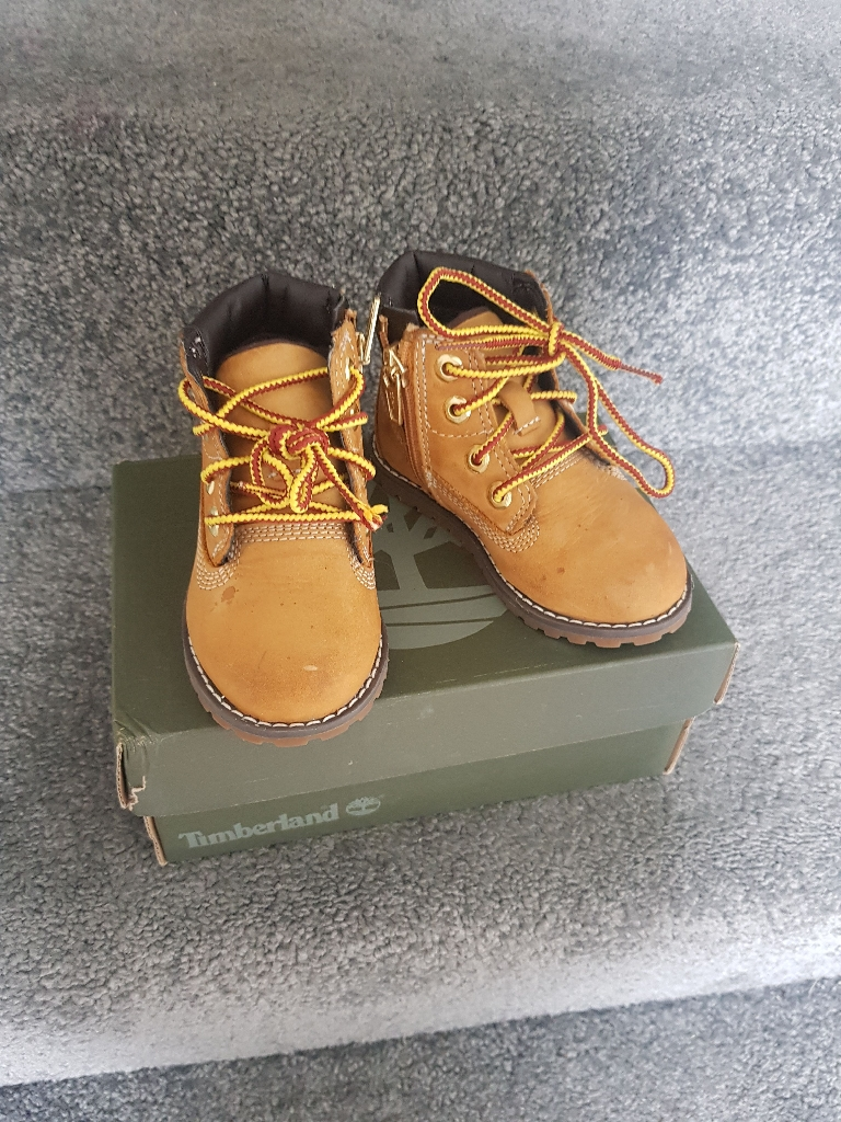 Timberland infant 5.5 boots