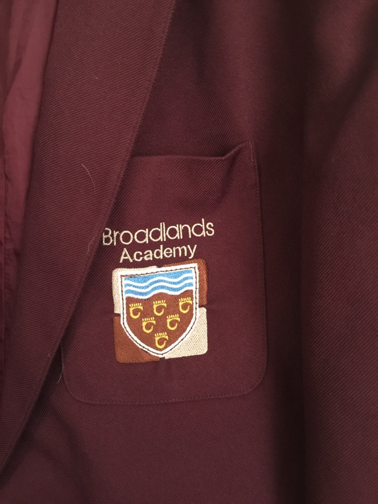 Broadlands Academy Blazer and Tie