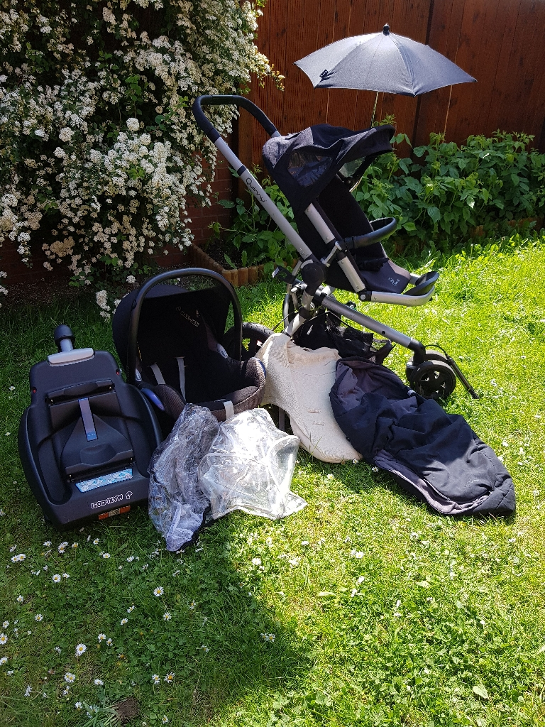 Quinny buzz 3 and maxi cosy Travel system