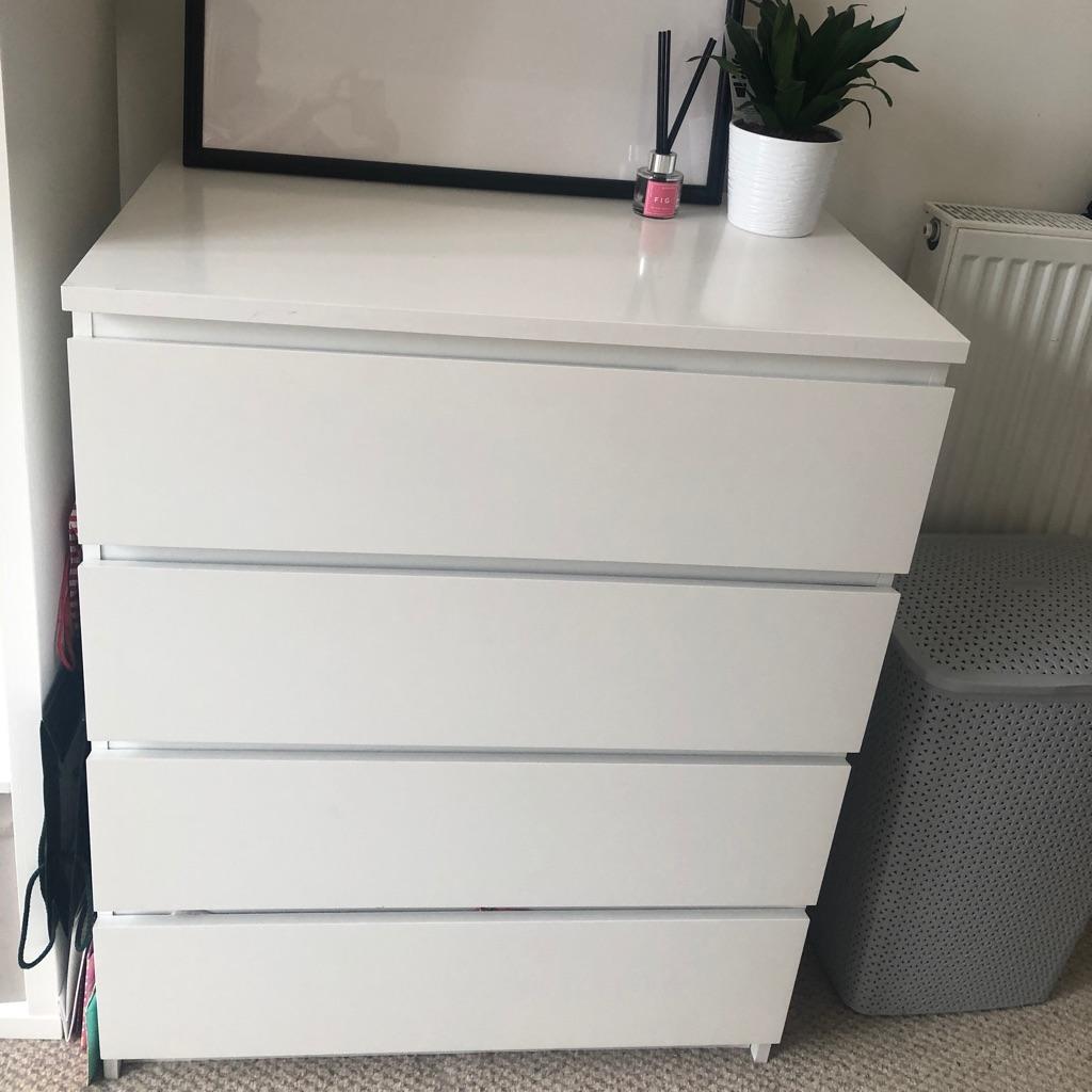 IKEA MALM set of 4 drawers