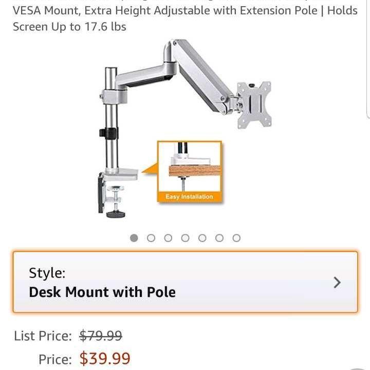 FEZIBO Monitor Arm Desk Mount