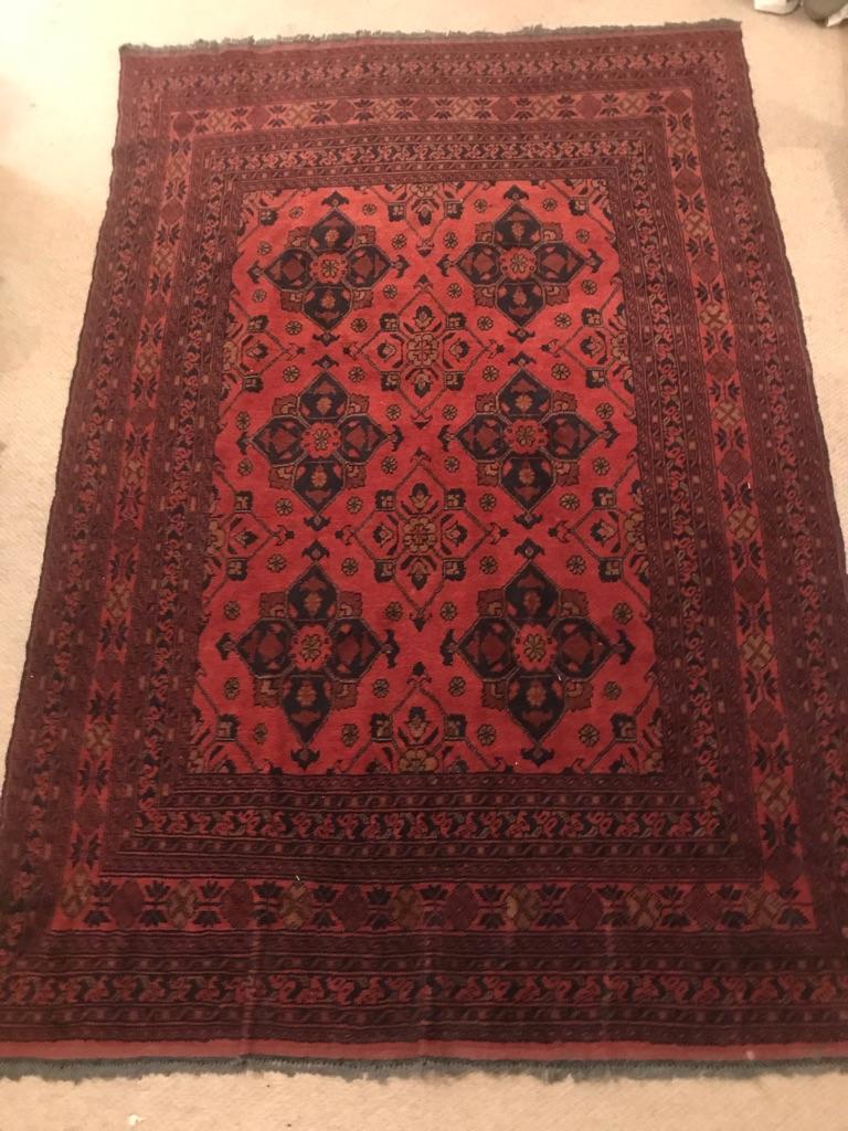 Persian carpet bought in the Middle East