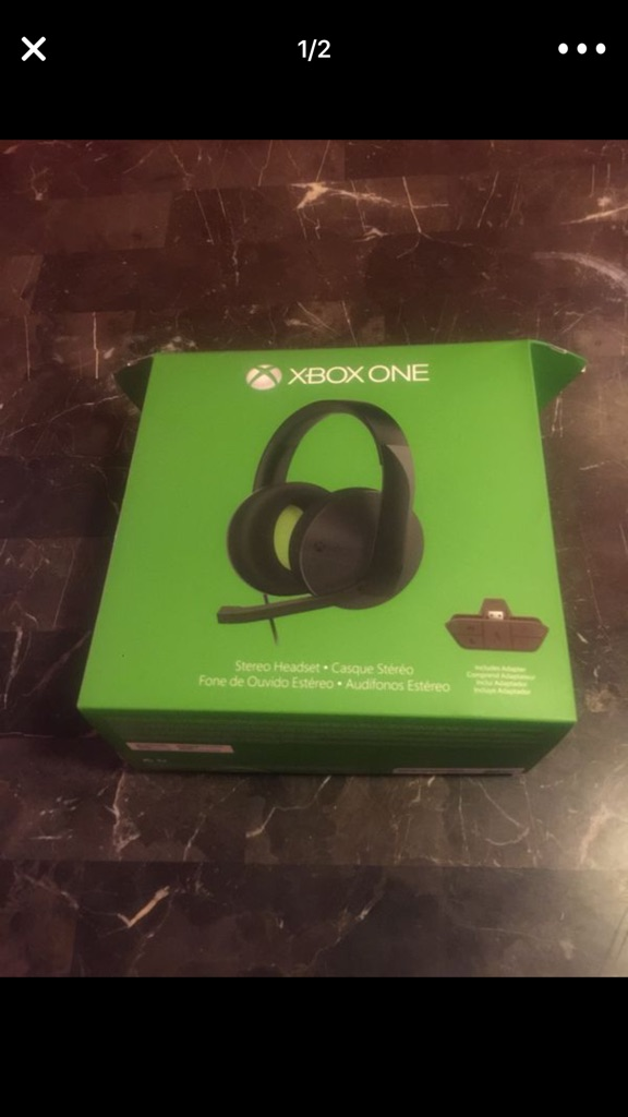 Xbox one head phones