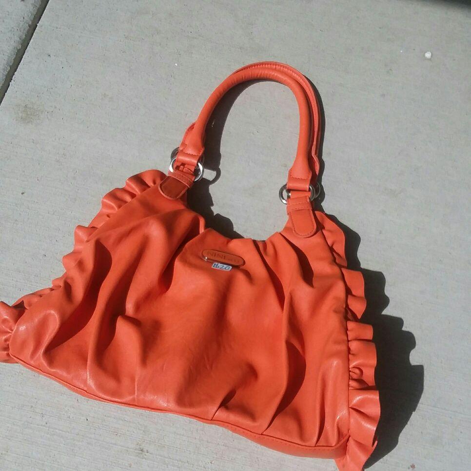 Nine and co orange purse