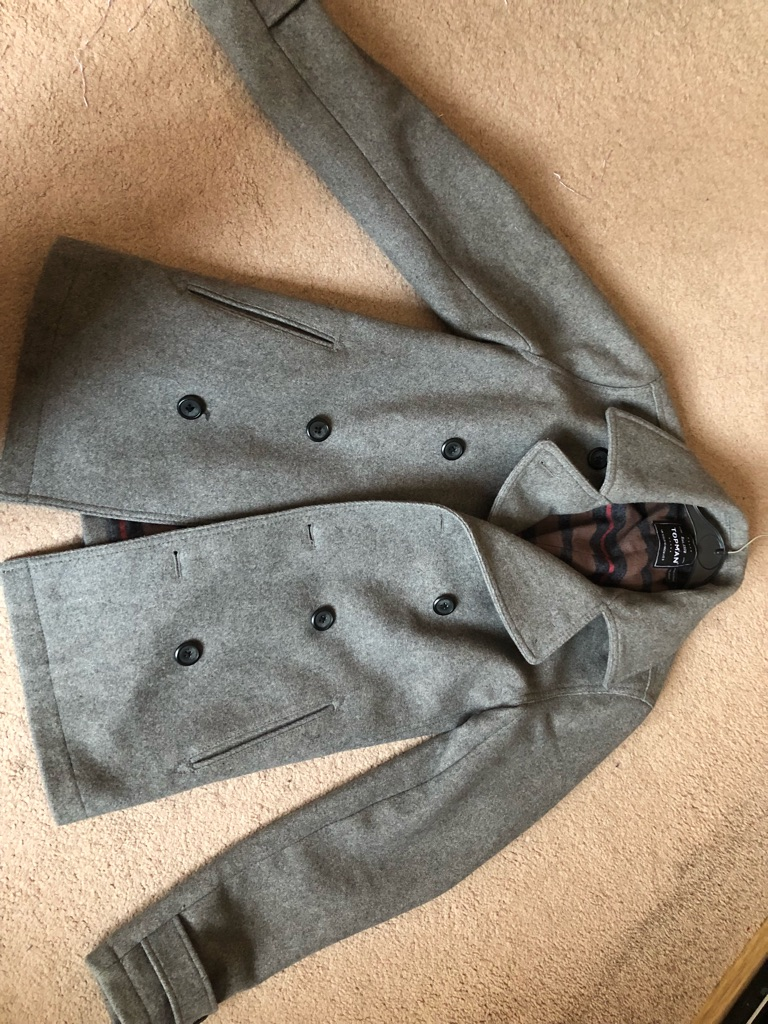 Topman Coat, S, Brilliant Condition