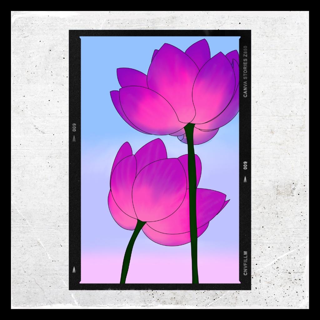 Flower Digital Art Print