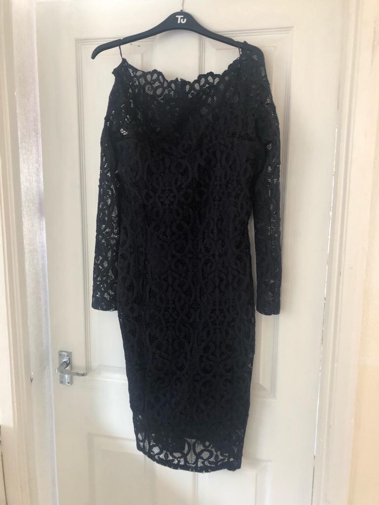 Next navy lace dress £25