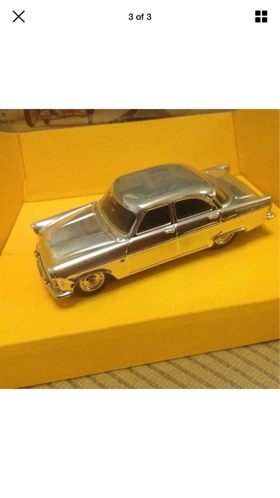 Rare corgi Gold Plated Ford Zodiac