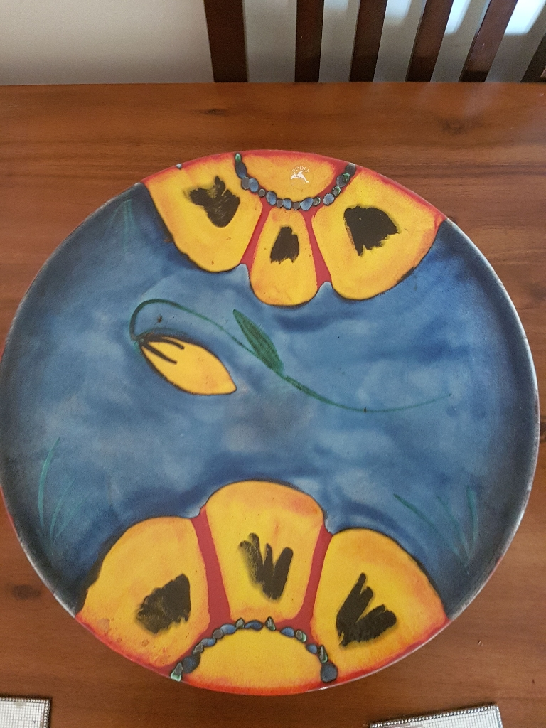 Huge limited edition poole pottery dish
