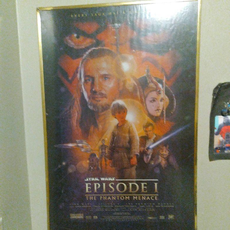 1976 Star Wars billboard poster