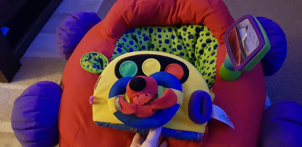 Baby sit up toy car seat