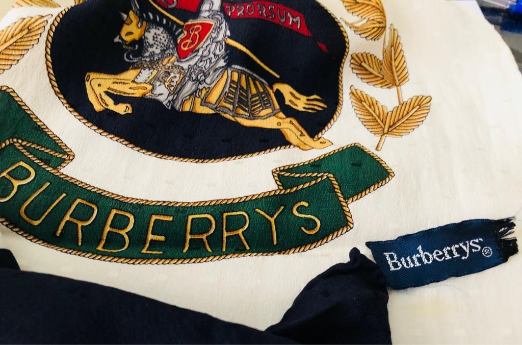 BURBERRY'S SPRING SILK SCARF