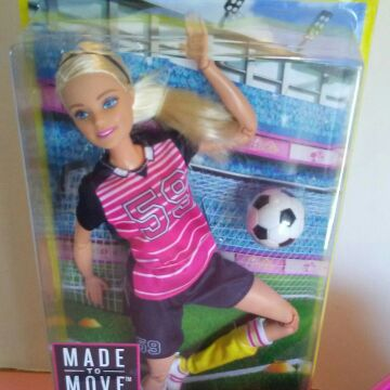 Soccer Barbie