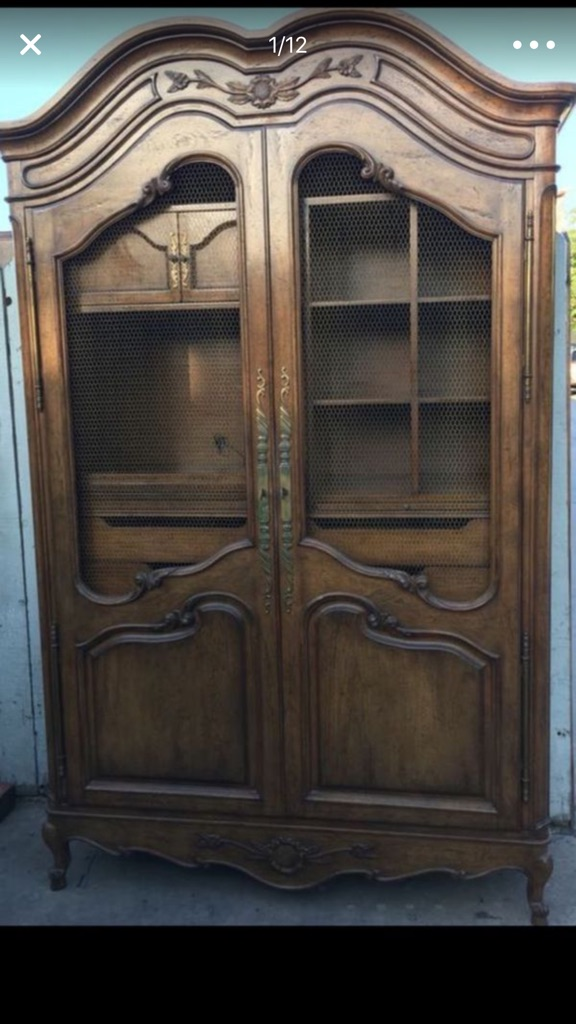 Auffray & co French provincial elegant Armoire