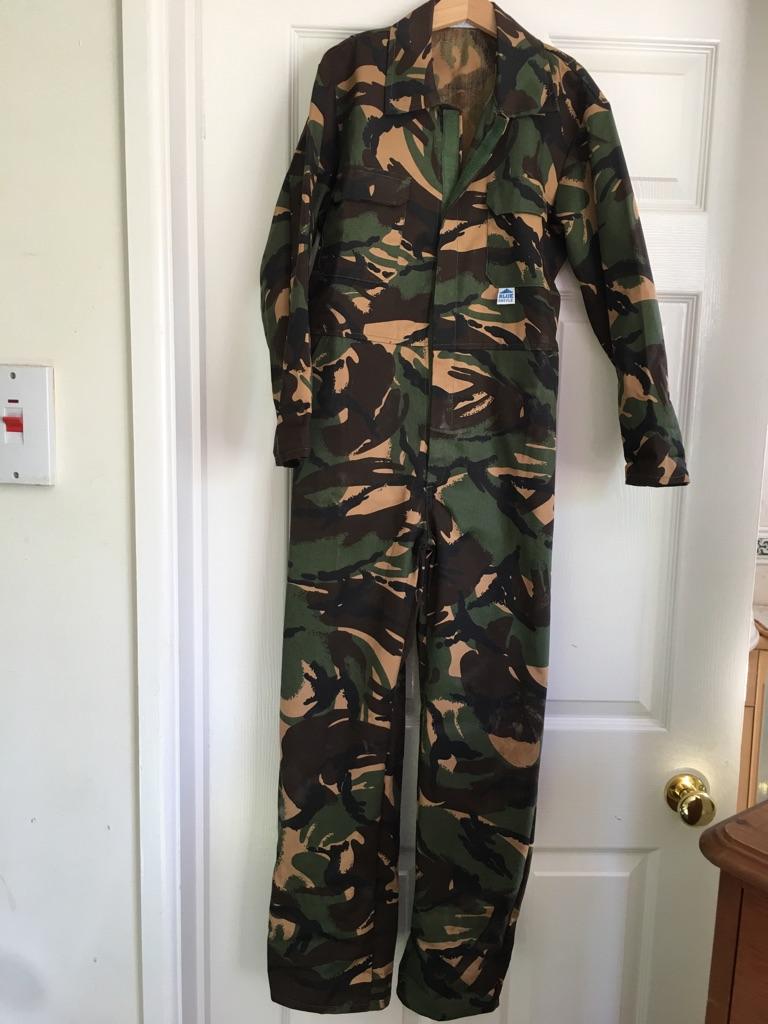 Children's Camouflage Boilersuit
