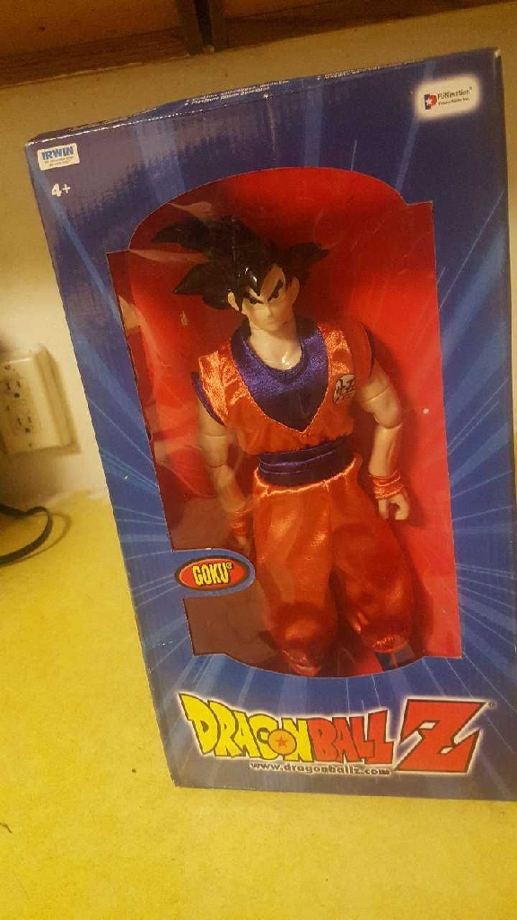 "Dragon ball z 12"" action collection Goku"