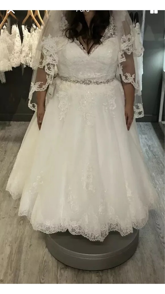 Wedding dress - open to offers