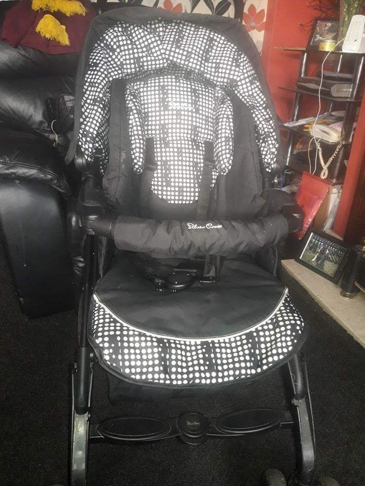Silver cross 3d pram special edition