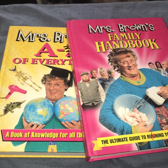 2 mrs brown books