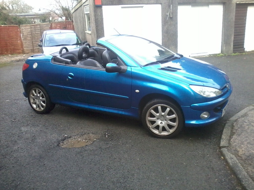 *offers welcome** Peugeot 206cc 2.0l